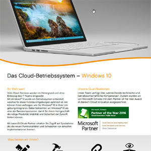 Windows 10 Factsheet