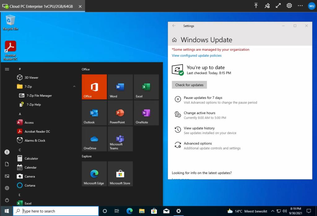 W365 - Desktop